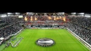 Legia Warszawa podczas Ligi Europy