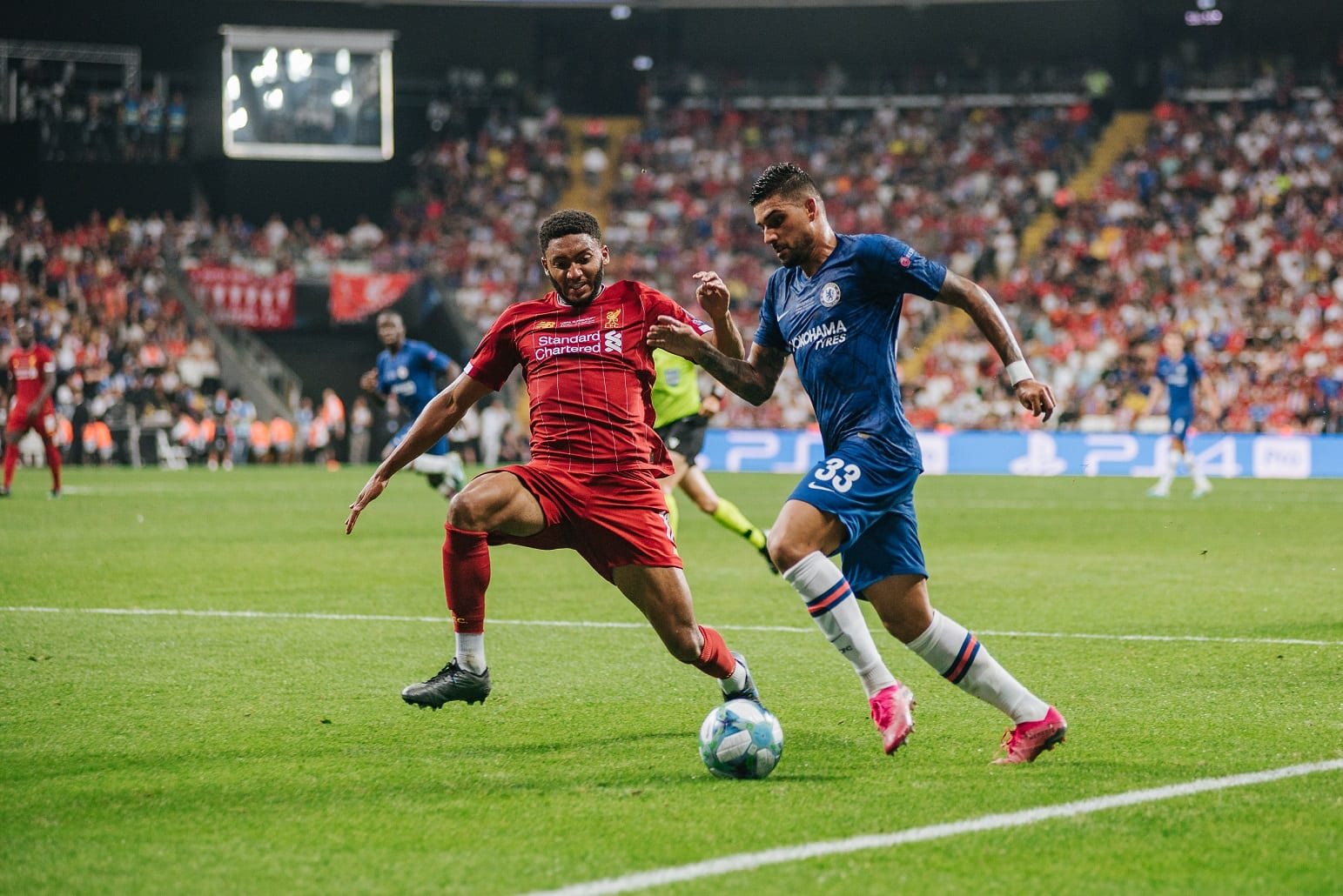 Chelsea vs Liverpool UEFA Supercup