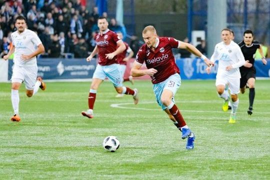 Mecz na Białorusi Mińsk vs Dynamo Brześć