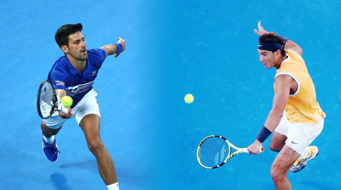 Rafael Nadal i Novka Djoković