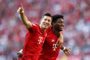 Robert Lewandowski Bayern Alaba