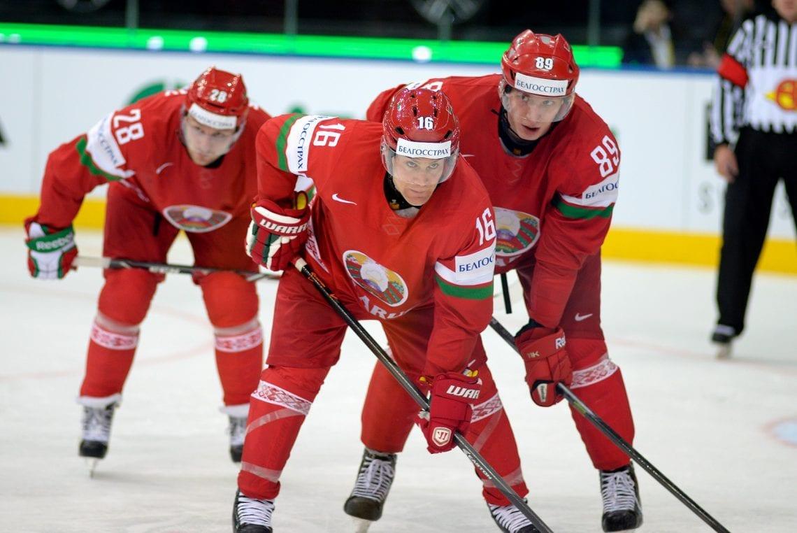 Hokej na lodzie na Białorusi, trzech hokeistów wznowienie