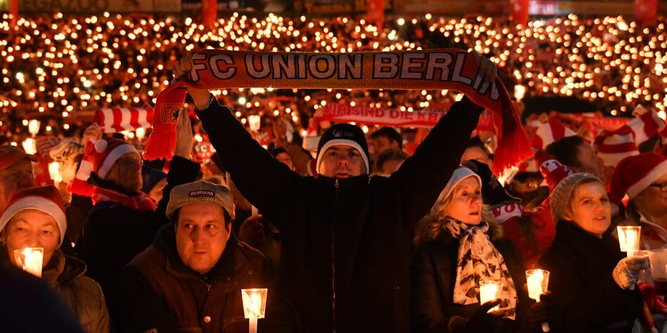 Union Berlin śpiewanie kolęd