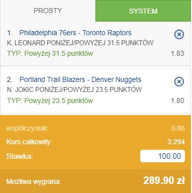 Gramy o 289 zł