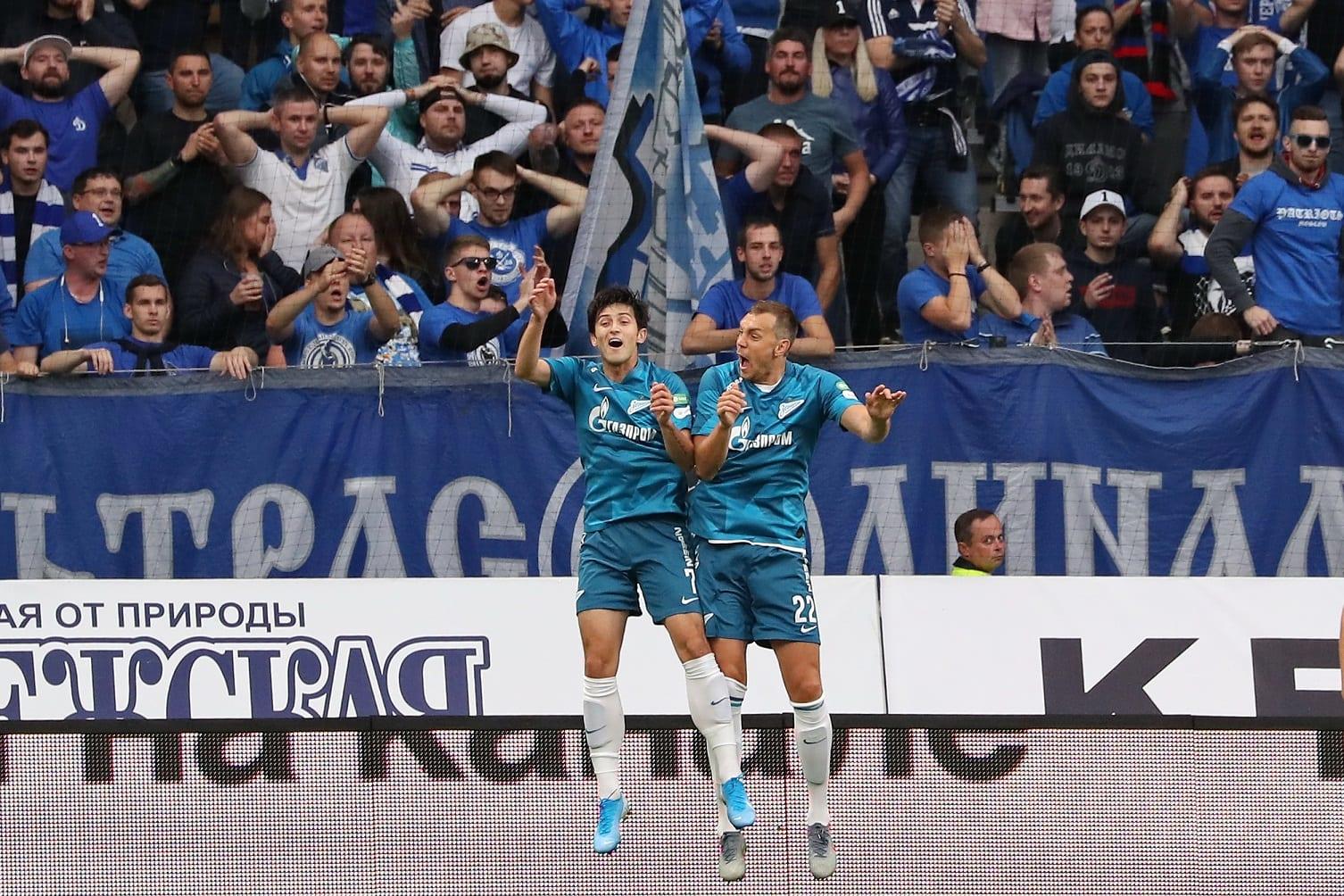 Piłkarze Zenitu St. Petersburg
