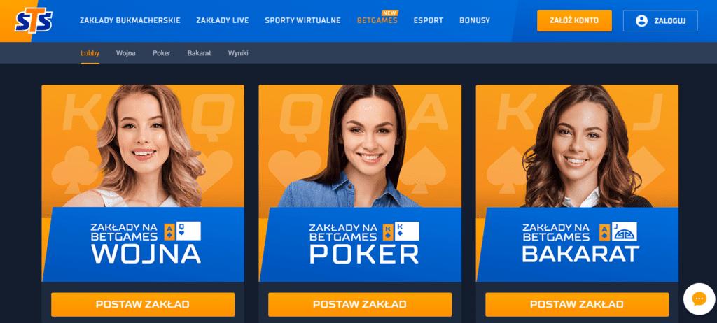 bet games - rodzaje zakładów