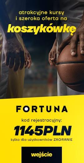 Baner Fortuny na NBA