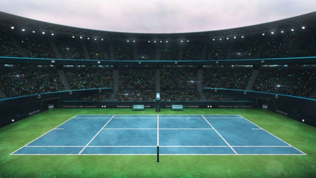zdjęcie kortu tenisowego