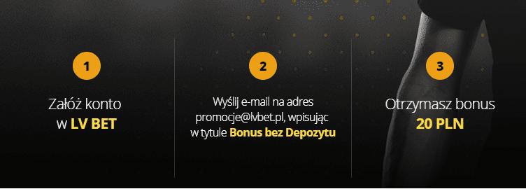 lvbet bonus - 20 zł