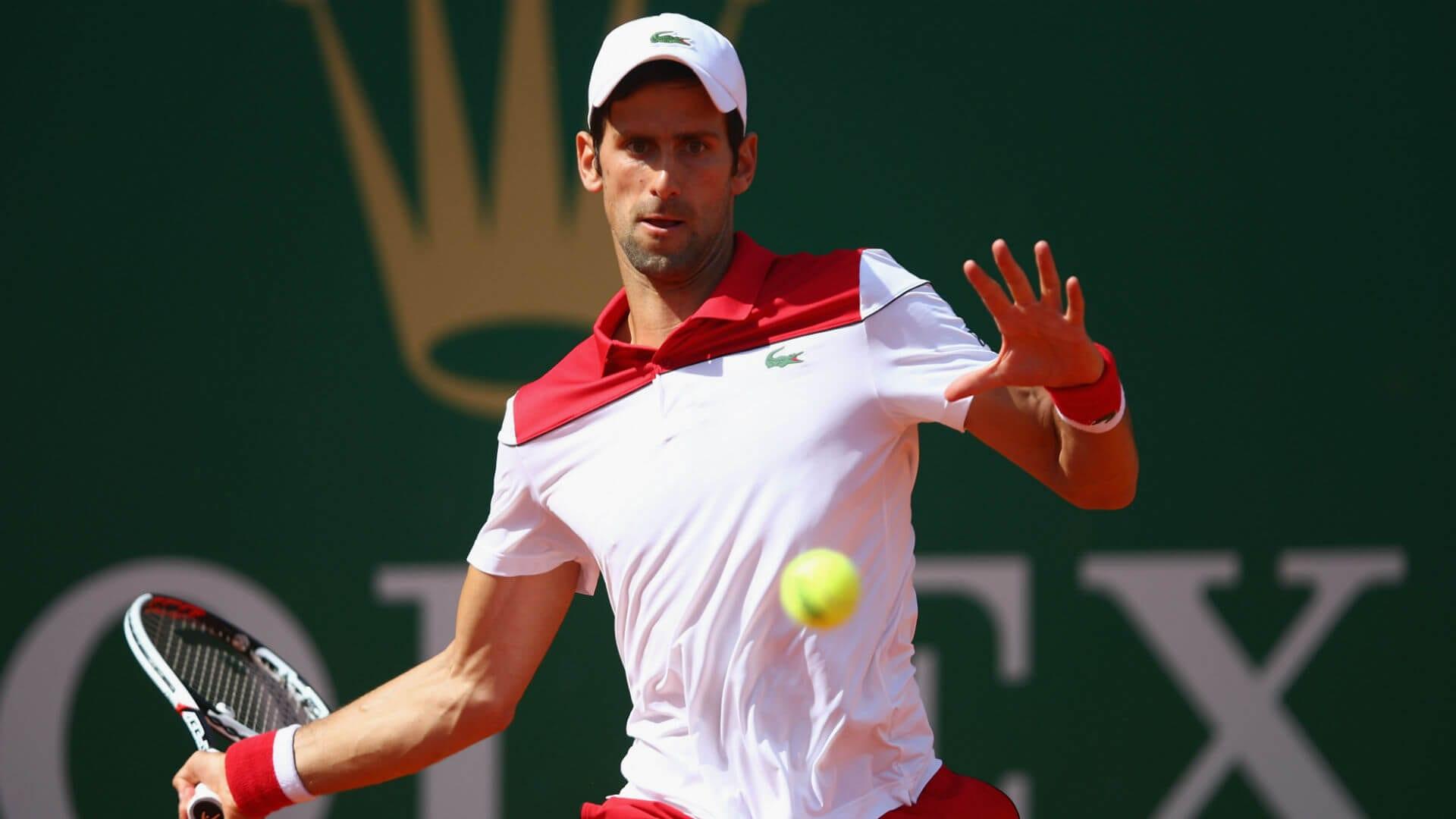 Novak Djoković w Monte Carlo