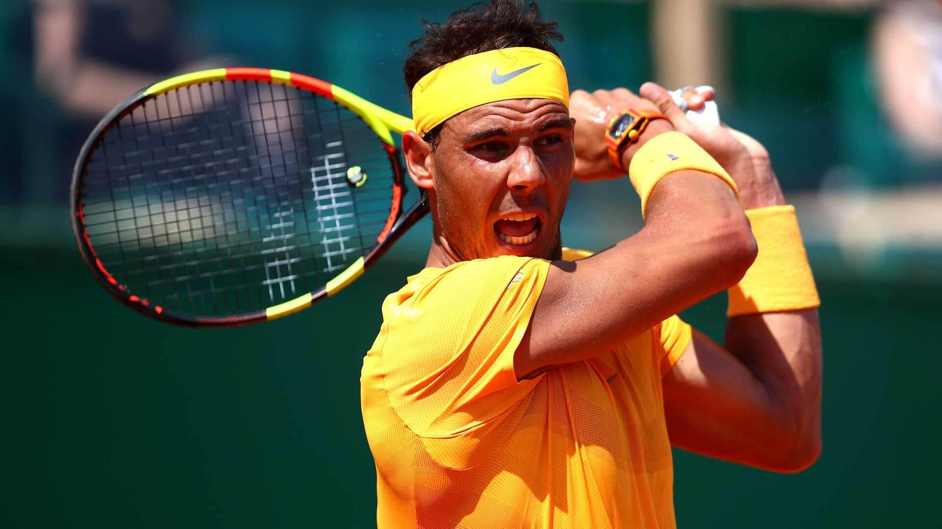 Rafael Nadal w Monte Carlo