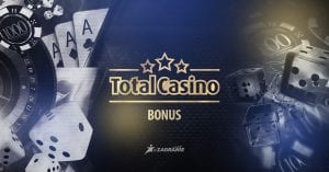 Total Casino bonus okładka