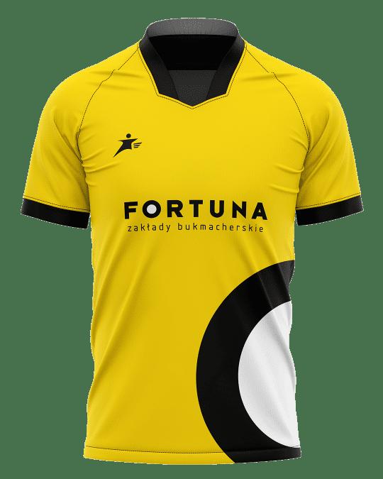 Koszulka Fortuna zakładów bukmacherskich