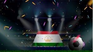 piłka i flaga