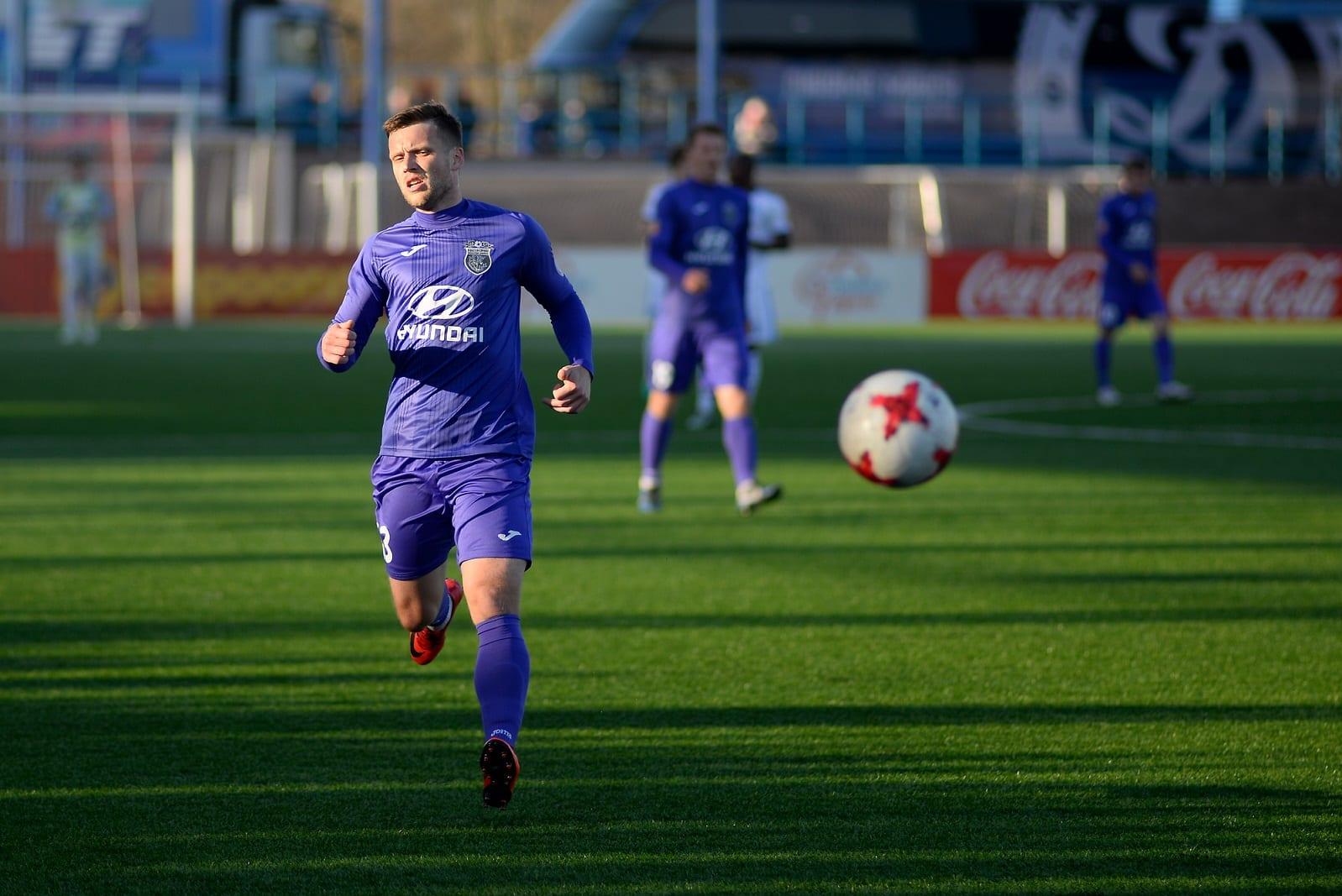piłkarz Isłacza Mińsk