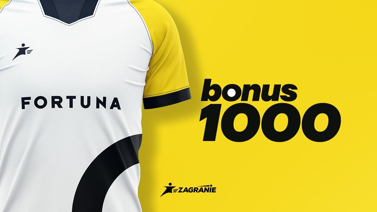 Fortuna bonus 1000 okładka artykułu