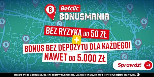 Betclic bonus - bonusmania