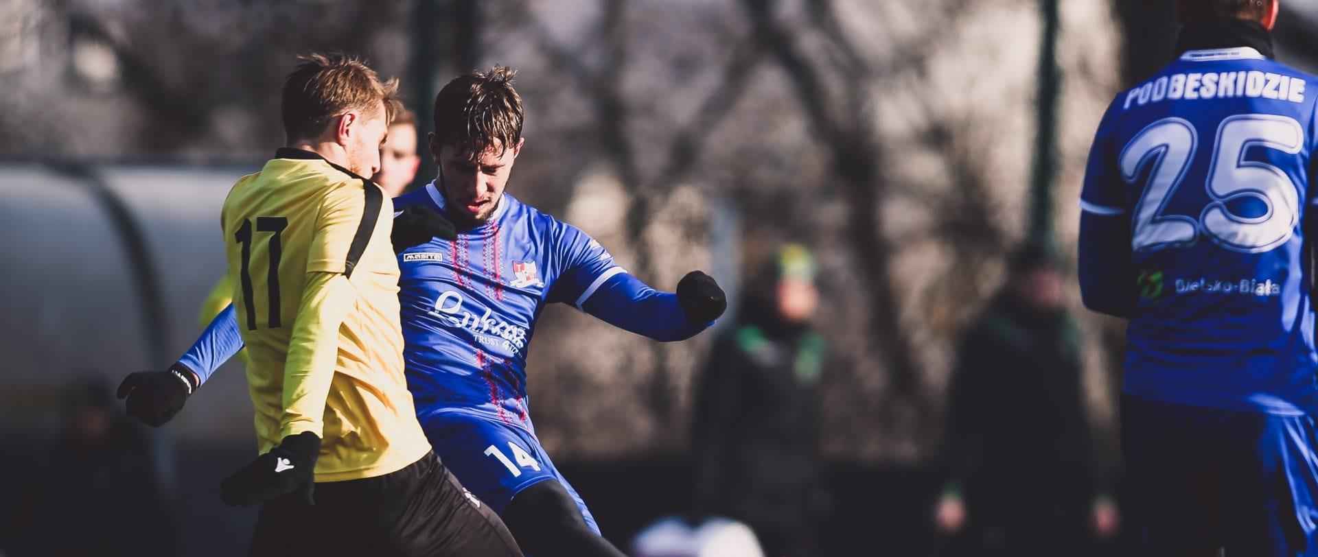 Filip Laskowski, zawodnik TS Podbeskidzia Bielsko – Białej.