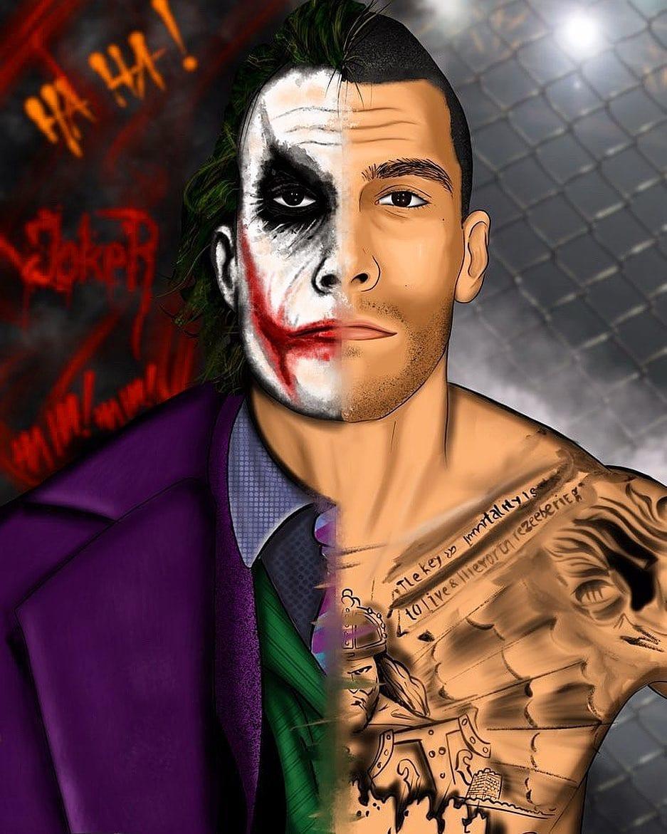 Ilić w kreacji Jokera