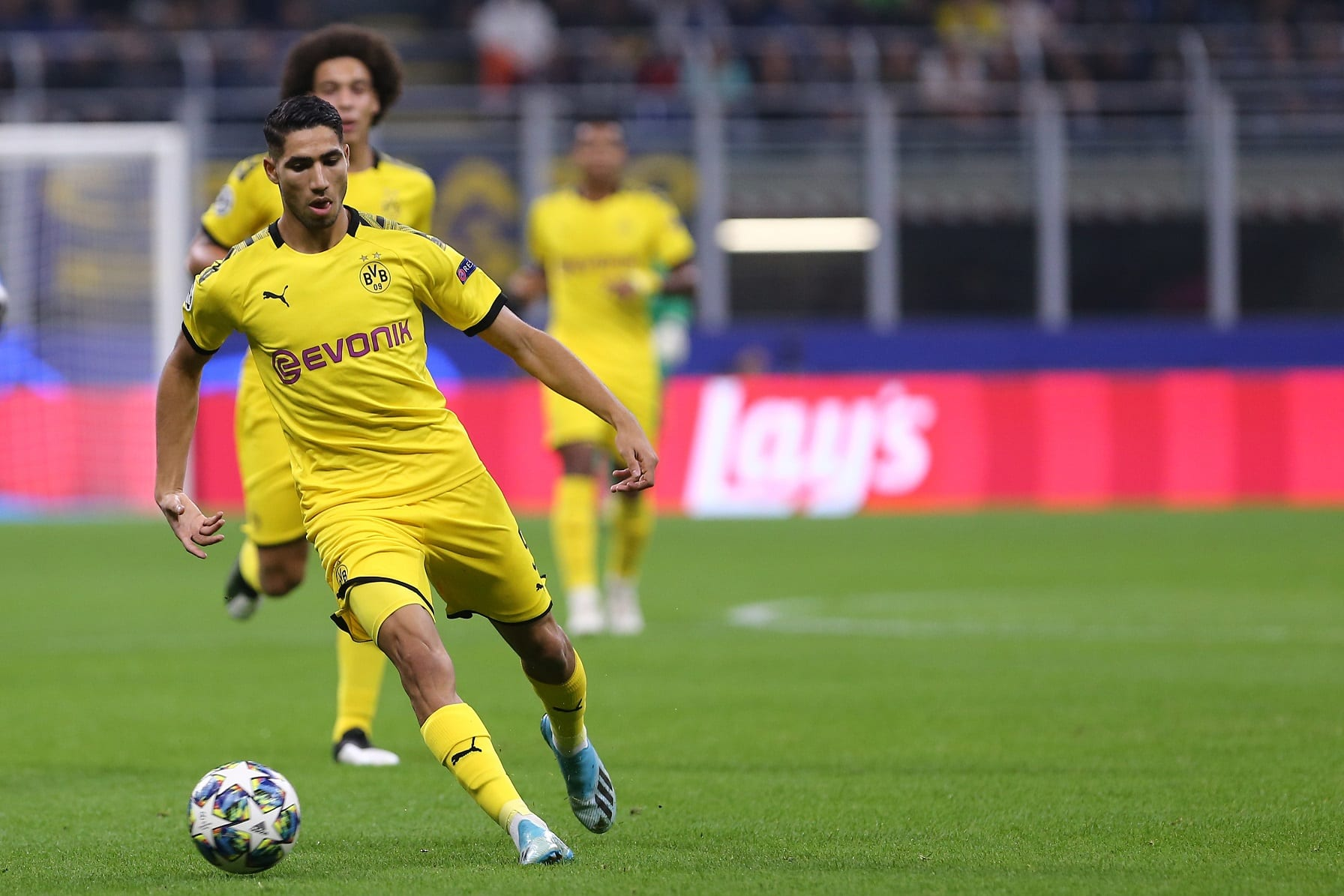 Piłkarz Borussii Dortmund Achraf Hakimi