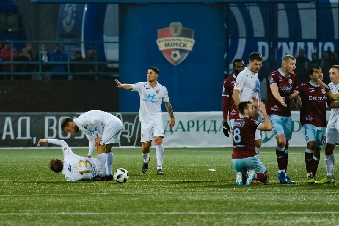 mecz Isloch vs Dynamo Brześć