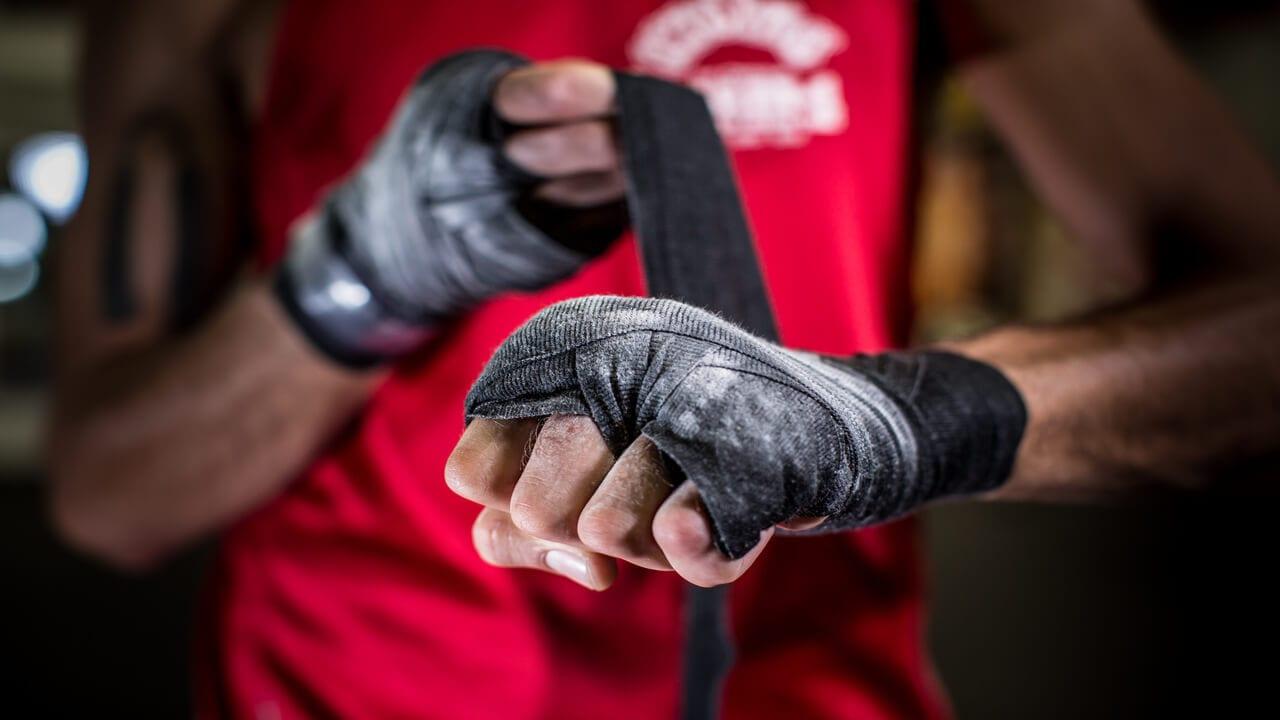 Pięściarskie owijki przed walką - MMA, UFC