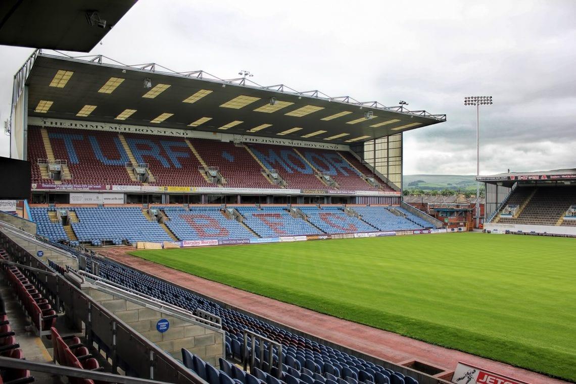 Turf Moor stadion Burnley