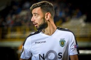 Sporting Lizbona Bruno Fernandes