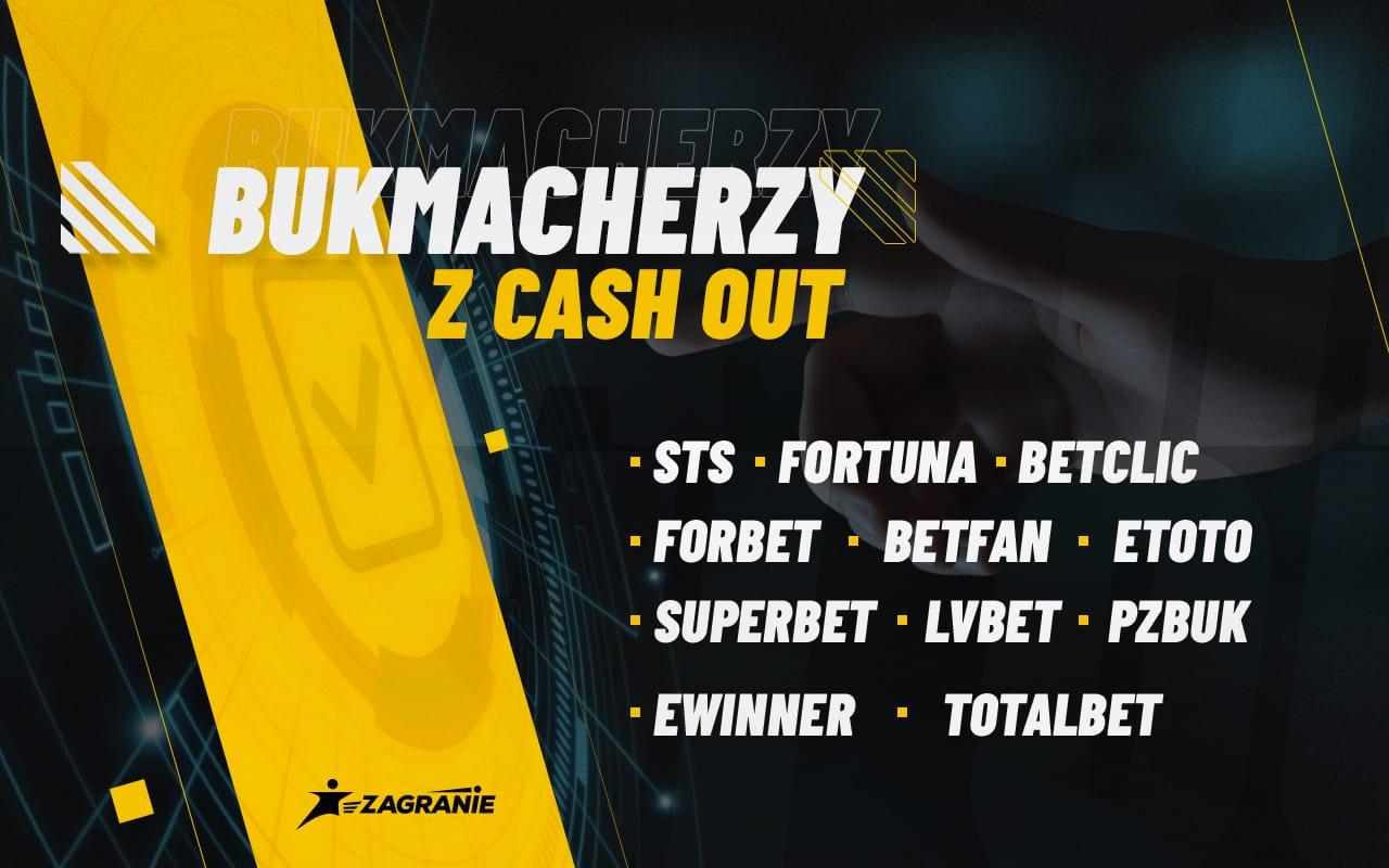Bukmacherzy z cash-outem