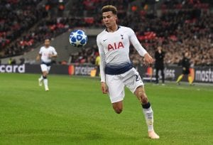 Piłkarz Tottenhamu Dele Alli