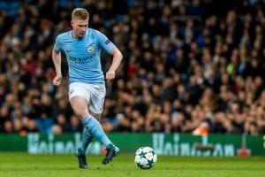 Manchester City Kevin de Bruyne piłkarz