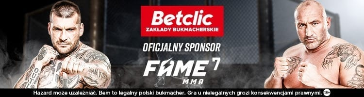 Baner FAME MMA BETCLIC