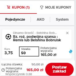 Singiel Betclic Białoruś 21.08.