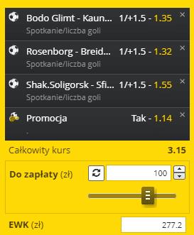 Liga Europy Fortuna 27.08.