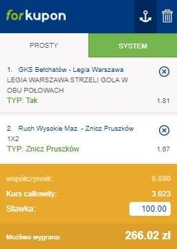 Puchar Polski - kupon