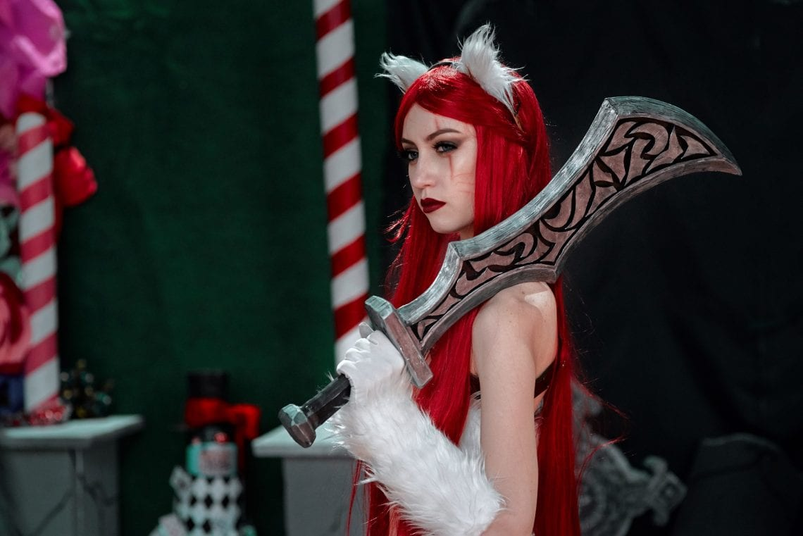 Cosplayerka Lol Katarina