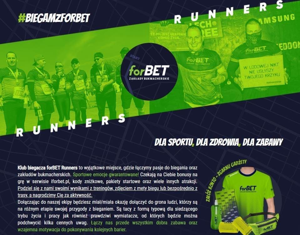 forBET Runners grafika