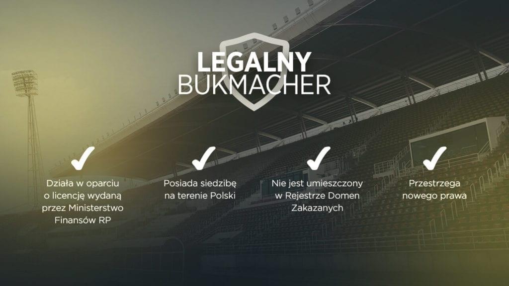 legalny bukmacher
