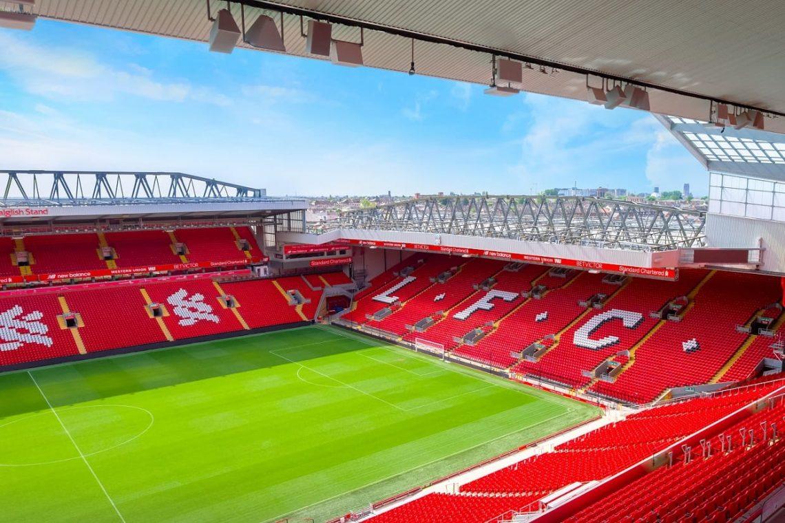 Stadion Liverpoolu Anfield Road