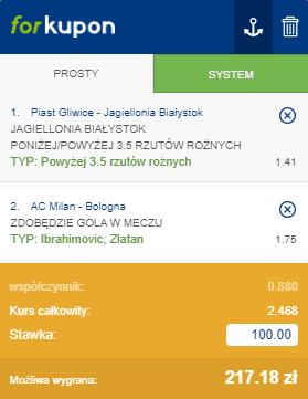 Serie A Forbet Ekstraklasa 21.09.