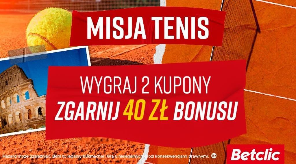 Misja Tenis grafika Betclic