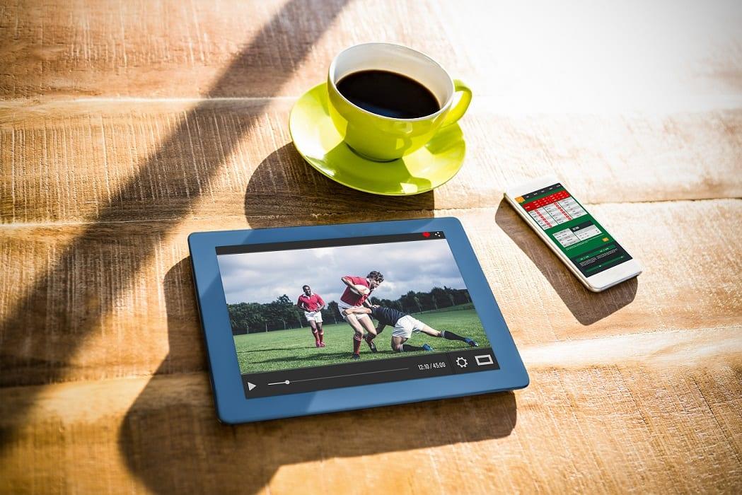 Kawa tablet piłka