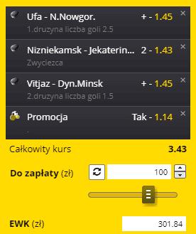 Fortuna KHL na 15.09.