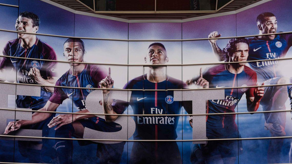 Wizerunki piłkarzy PSG
