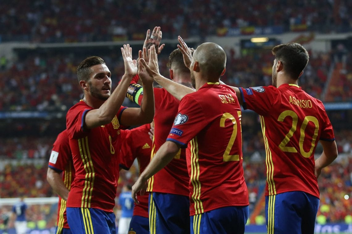 Piłkarze Hiszpanii