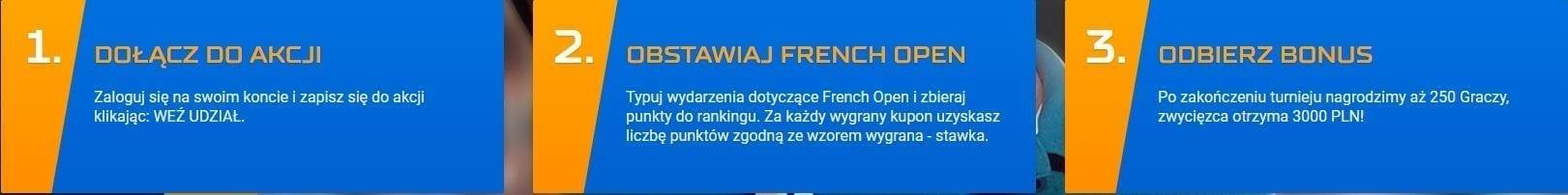 STS French Open bonus