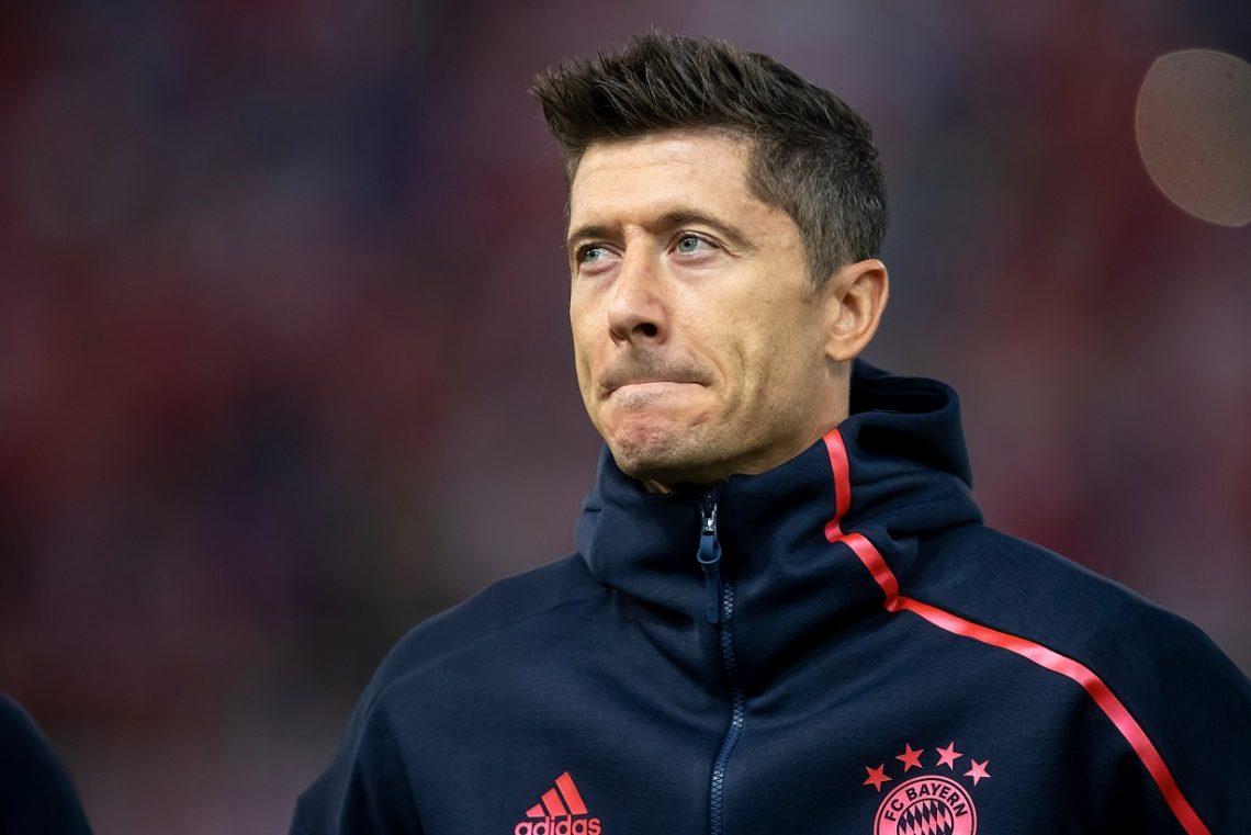 Liga Mistrzów Bayern Monachium Robert Lewandowski