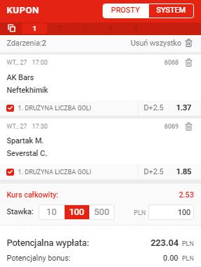 KHL na 27.10. Superbet