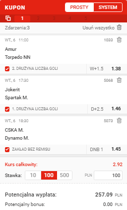Triple na 06.10. Superbet KHL