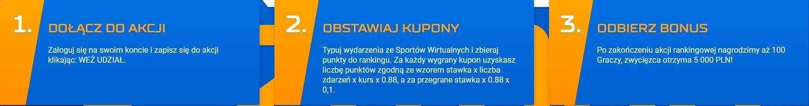 STS wirtualne sporty bonus